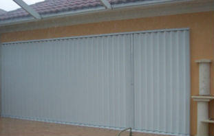 Accordion Hurricane Shutters Marco Island