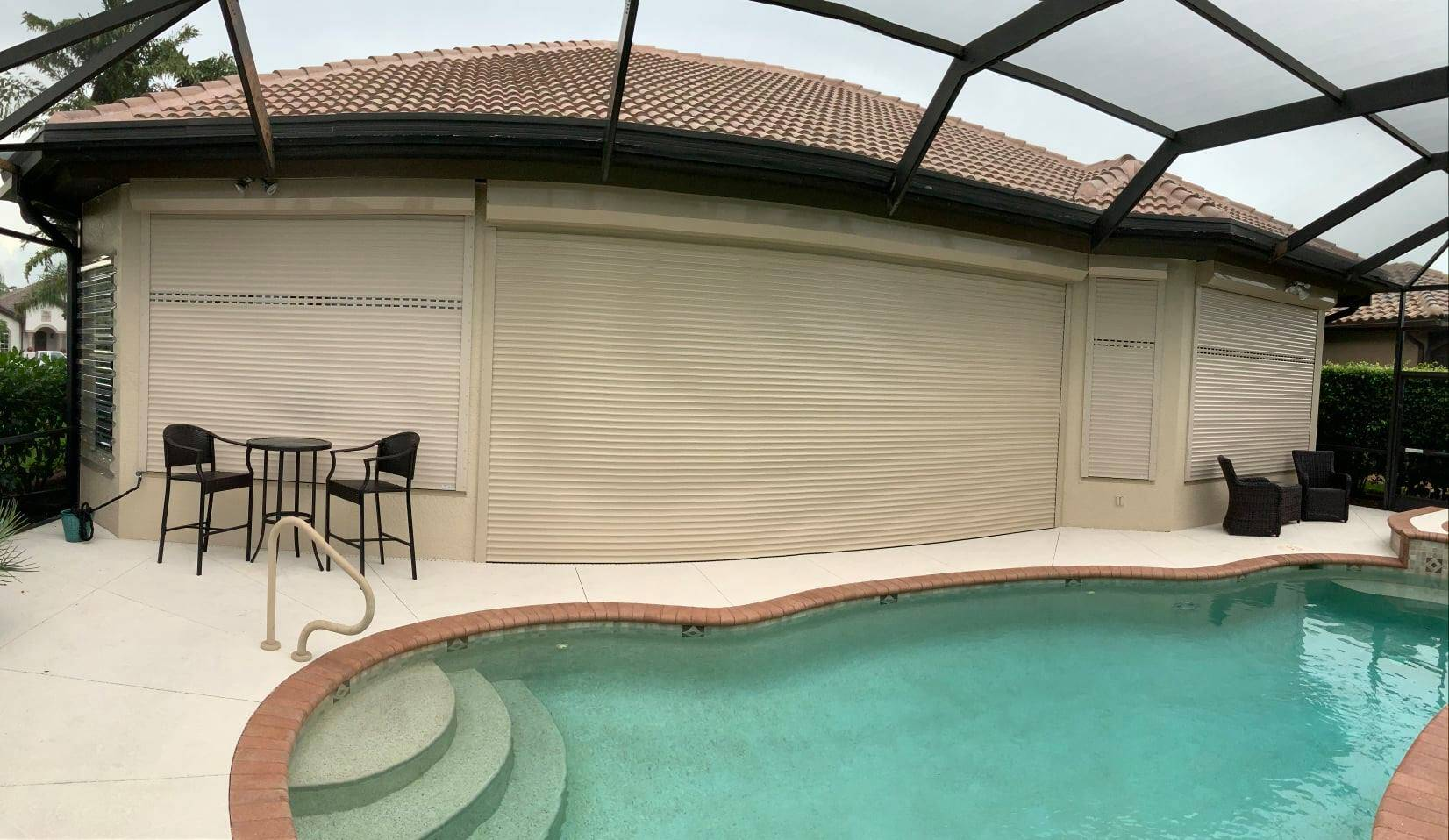 Roll Down Hurricane Shutters Marco Island
